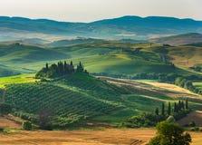 Όμορφη άποψη στην Τοσκάνη στοκ φωτογραφία