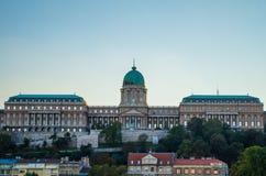 Όμορφη άποψη της Βουδαπέστης Castle στοκ εικόνα