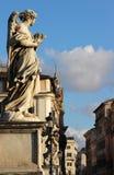 Όμορφη άποψη της γέφυρας της Ρώμης, Ιταλία Στοκ φωτογραφία με δικαίωμα ελεύθερης χρήσης