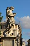 Όμορφη άποψη της γέφυρας της Ρώμης, Ιταλία Στοκ φωτογραφίες με δικαίωμα ελεύθερης χρήσης