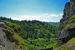 Όμορφη άποψη της κοιλάδας Στοκ φωτογραφία με δικαίωμα ελεύθερης χρήσης