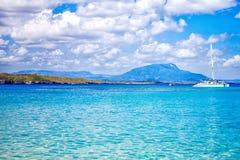 Όμορφη άποψη της παραλίας Sosua Στοκ Εικόνα