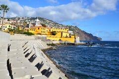 Όμορφη άποψη της πόλης του Φουνκάλ, Πορτογαλία Στοκ φωτογραφία με δικαίωμα ελεύθερης χρήσης