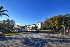 Όμορφη άποψη της πόλης του Φουνκάλ, Πορτογαλία Στοκ Φωτογραφίες