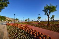 Όμορφη άποψη της πόλης του Φουνκάλ, Πορτογαλία Στοκ Εικόνες