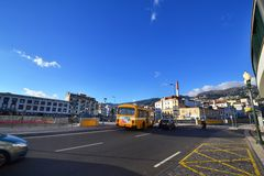 Όμορφη άποψη της πόλης του Φουνκάλ, Πορτογαλία Στοκ φωτογραφίες με δικαίωμα ελεύθερης χρήσης