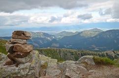 Όμορφη άποψη του βουνού Tatra Στοκ Εικόνες