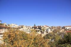 Όμορφη άποψη του γραφικού χωριού των artisans Λεύκαρα, Κύπρος Στοκ φωτογραφίες με δικαίωμα ελεύθερης χρήσης