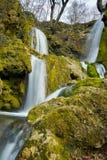 Όμορφη άποψη του καταρράκτη καταρρακτών Bachkovo στο βουνό Rhodopes, Βουλγαρία Στοκ φωτογραφίες με δικαίωμα ελεύθερης χρήσης