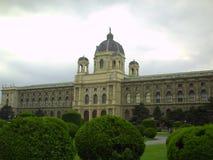 Όμορφη άποψη του παγκοσμίως διάσημου μουσείου Naturhistorisches ή φυσικής ιστορίας στοκ φωτογραφία με δικαίωμα ελεύθερης χρήσης