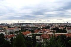 Όμορφη άποψη του παλαιού μέρους της πόλης στοκ εικόνα
