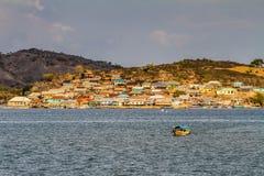 Όμορφη άποψη του χωριού στην sumbawa-Ινδονησία Στοκ εικόνες με δικαίωμα ελεύθερης χρήσης
