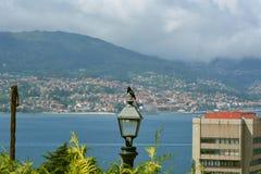 Όμορφη άποψη του Vigo, Ισπανία Στοκ φωτογραφίες με δικαίωμα ελεύθερης χρήσης