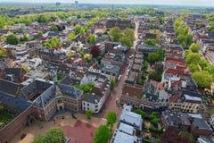 Όμορφη άποψη των οδών με τα αρχαία κτήρια της Ουτρέχτης Δημοφιλής προορισμός ταξιδιού στις Κάτω Χώρες στοκ φωτογραφία με δικαίωμα ελεύθερης χρήσης