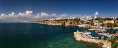 Όμορφη άποψη Antalia Τουρκία Στοκ φωτογραφία με δικαίωμα ελεύθερης χρήσης