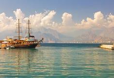 Όμορφη άποψη Antalia Στοκ Εικόνες