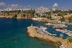 Όμορφη άποψη Antalia Στοκ εικόνες με δικαίωμα ελεύθερης χρήσης