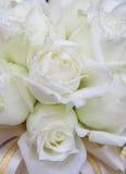 Όμορφη άσπρη ανθοδέσμη γαμήλιων λουλουδιών Στοκ φωτογραφία με δικαίωμα ελεύθερης χρήσης