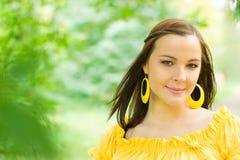 όμορφη έγκυος γυναίκα πάρ&kapp Στοκ εικόνες με δικαίωμα ελεύθερης χρήσης