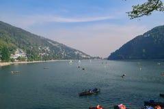 Όμορφη λίμνη Nainital Uttrakhand Στοκ Εικόνες
