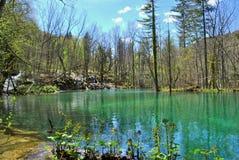 Όμορφη λίμνη Plitvice Στοκ Φωτογραφία