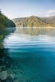 Όμορφη λίμνη Plitvice Στοκ Εικόνες