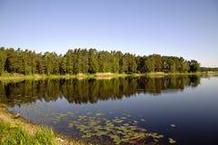 Όμορφη λίμνη Valguma Στοκ Φωτογραφίες