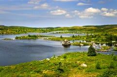 όμορφη ακτή της νέας γης λιμ Στοκ φωτογραφίες με δικαίωμα ελεύθερης χρήσης