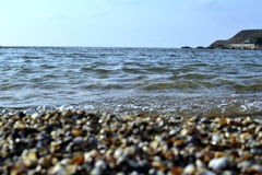 Όμορφη ακτή της Azov θάλασσας Στοκ φωτογραφία με δικαίωμα ελεύθερης χρήσης