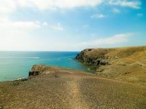 Όμορφη ακτή Papagayo, κανάρια νησιά στοκ φωτογραφία με δικαίωμα ελεύθερης χρήσης