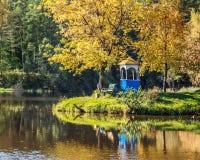 Όμορφη ανασκόπηση φθινοπώρου Στοκ φωτογραφία με δικαίωμα ελεύθερης χρήσης