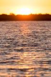 όμορφη ανατολή λιμνών Στοκ Εικόνα
