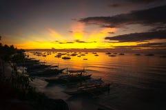 Όμορφη ανατολή πέρα από τη θάλασσα στοκ εικόνα με δικαίωμα ελεύθερης χρήσης