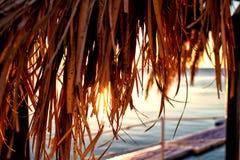 Όμορφη ανατολή στη Ερυθρά Θάλασσα Στοκ Εικόνες