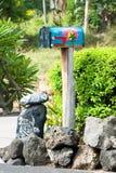 Όμορφη αναδρομική ταχυδρομική θυρίδα στη Χαβάη Στοκ φωτογραφία με δικαίωμα ελεύθερης χρήσης