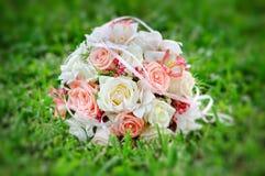 Όμορφη ανθοδέσμη της νύφης Στοκ Εικόνα