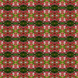 Όμορφη ανθοδέσμη του Indica λουλουδιού Quisqualis άνευ ραφής διανυσματική απεικόνιση