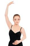όμορφη απεικόνιση σχεδίου χορευτών μπαλέτου Στοκ Φωτογραφίες