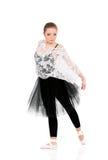 όμορφη απεικόνιση σχεδίου χορευτών μπαλέτου Στοκ Εικόνα