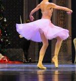 όμορφη απεικόνιση σχεδίου χορευτών μπαλέτου Στοκ φωτογραφία με δικαίωμα ελεύθερης χρήσης