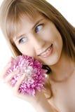 όμορφη απομονωμένη λουλ&omicro Στοκ εικόνες με δικαίωμα ελεύθερης χρήσης