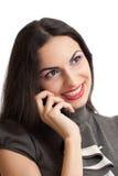 όμορφη απομονωμένη τηλεφω&n Στοκ φωτογραφίες με δικαίωμα ελεύθερης χρήσης