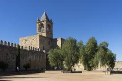 Όμορφη αραβική ακρόπολη της πόλης Antequera στην επαρχία της Μάλαγας, Ισπανία Στοκ φωτογραφία με δικαίωμα ελεύθερης χρήσης