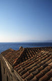 Όμορφη αρχαία πόλη Monemvasia, Ελλάδα Στοκ φωτογραφία με δικαίωμα ελεύθερης χρήσης