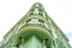 όμορφη αρχιτεκτονική εξοχικών σπιτιών παραμυθιού Στοκ Εικόνα