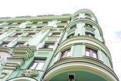 όμορφη αρχιτεκτονική εξοχικών σπιτιών παραμυθιού Στοκ φωτογραφία με δικαίωμα ελεύθερης χρήσης