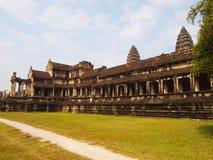 Όμορφη αρχιτεκτονική, ο ναός Angkor Wat στην Καμπότζη Στοκ Φωτογραφίες