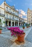 Όμορφη αρχιτεκτονική στην παλαιά Αβάνα Κούβα Στοκ Φωτογραφία