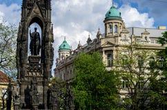 Όμορφη αρχιτεκτονική της πόλης της Πράγας Στοκ φωτογραφία με δικαίωμα ελεύθερης χρήσης