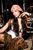 όμορφη ασιατική γυναίκα ε& Στοκ Εικόνες